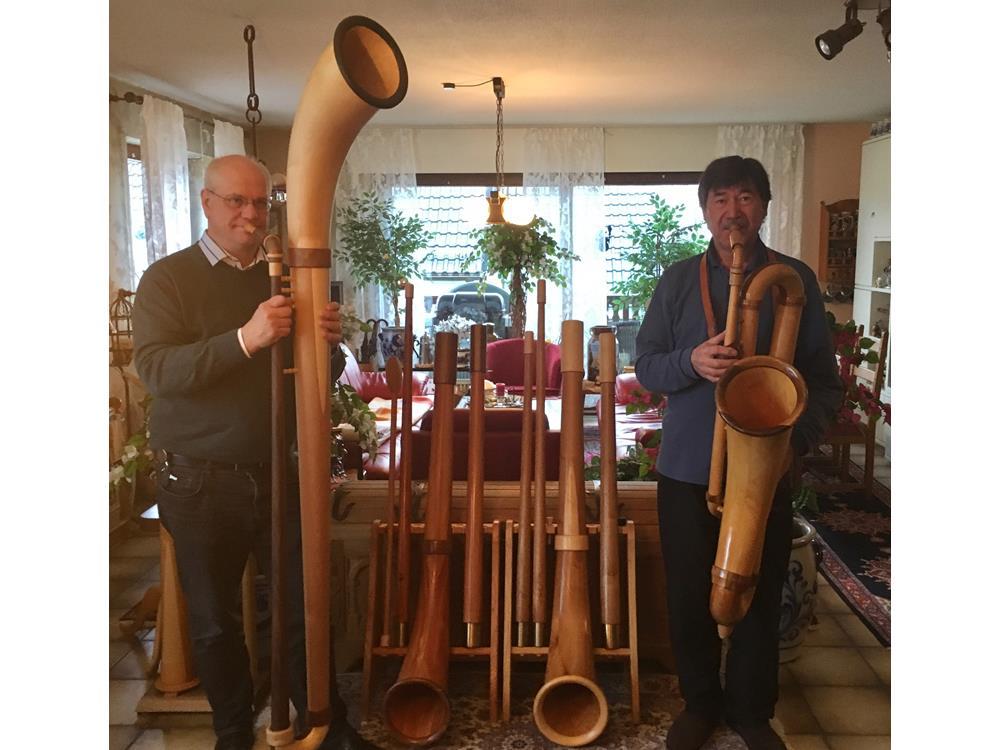 Alphörner suchen Musiker