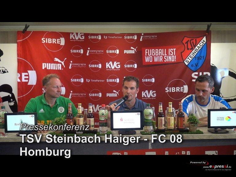 Pressekonferenz TSV Steinbach Haiger – FC 08 Homburg