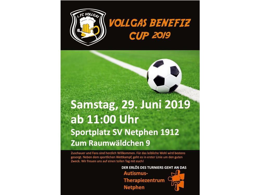 """""""VollGas Benefiz Cup"""" zugunsten des Autismus-Therapiezentrums Netphen"""