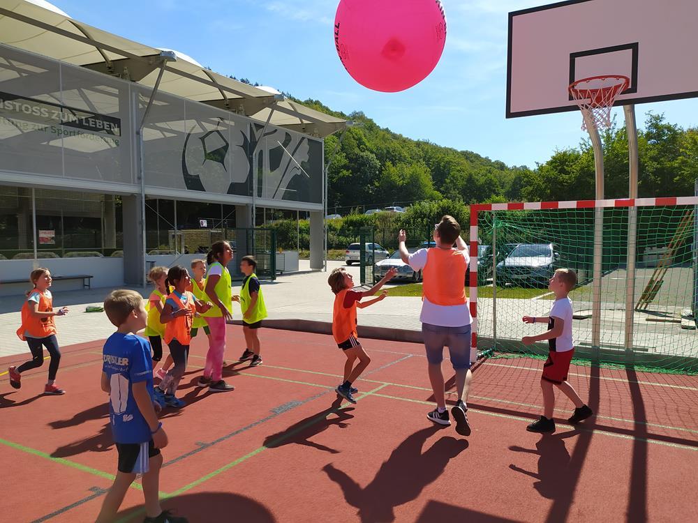 Trendsporttag im TeamSportPark – Kinder trotzten Sonne und Corona