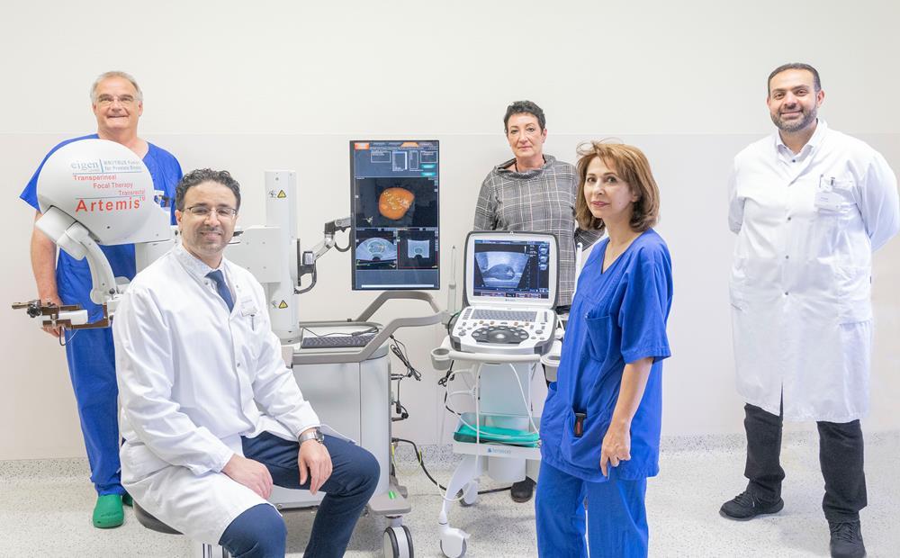 Urologie des Kreisklinikums Siegen setzt auf modernste Technologie bei der Diagnostik und Therapie von Prostatakrebs
