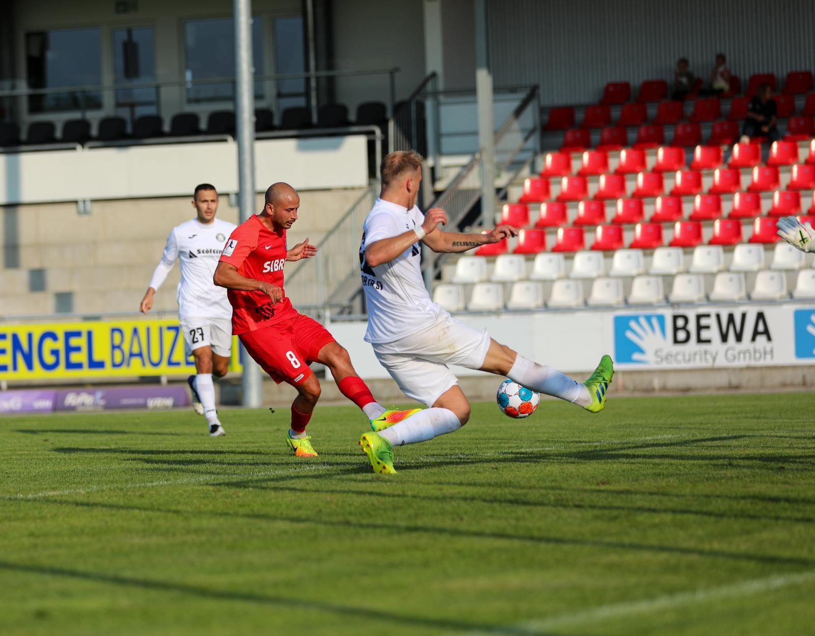Testspiel-Niederlage gegen den Wuppertaler SV
